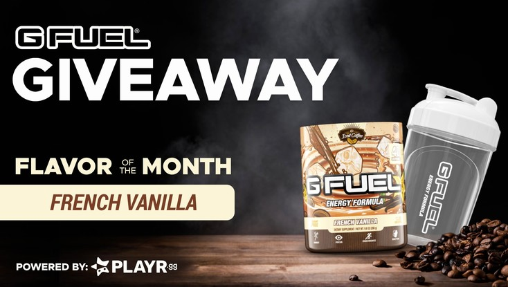 G FUEL Flavor of the Month Giveaway!