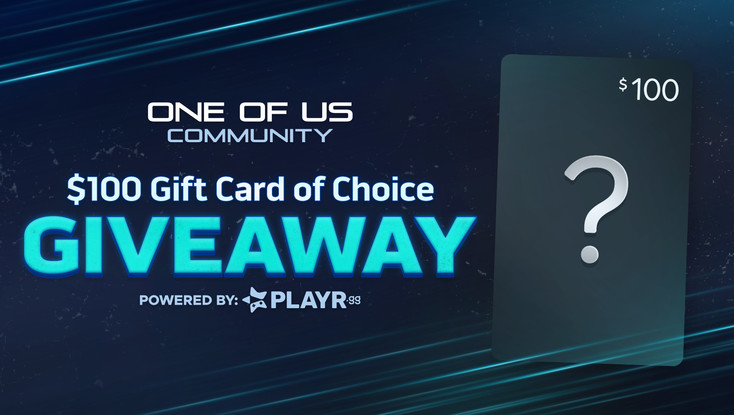 The One of Us Community - Gift Card Giveaway!