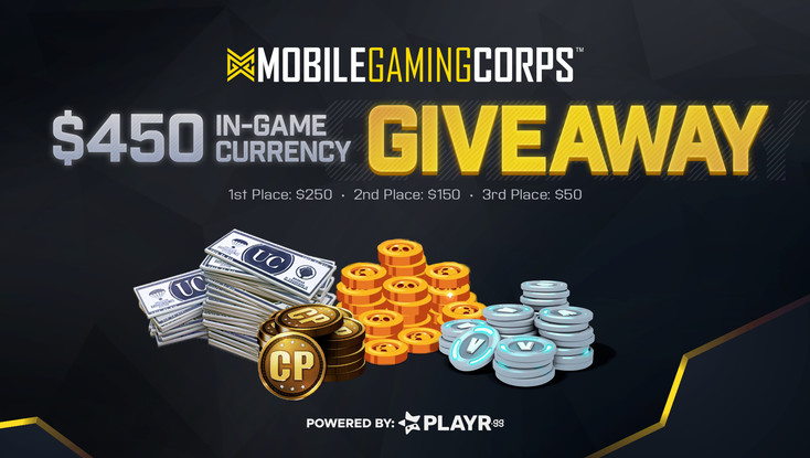 MGC Mobile Game Currency Giveaway!
