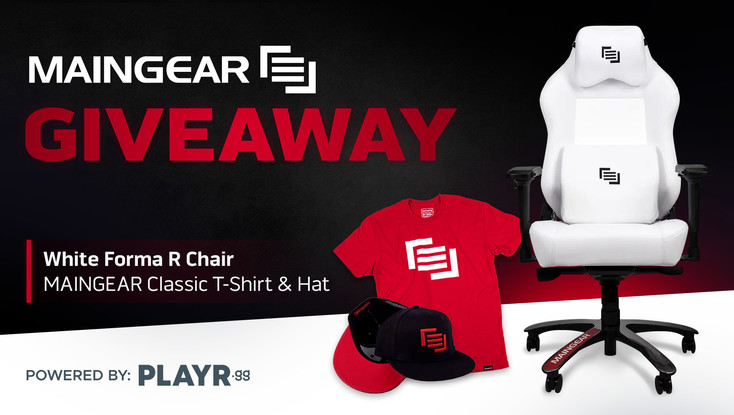 MAINGEAR Gaming Chair & Gear Giveaway!