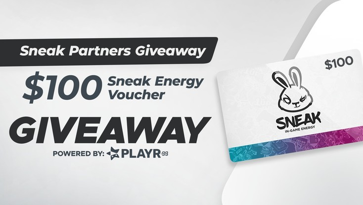 Sneak Partner's Verified Giveaway!