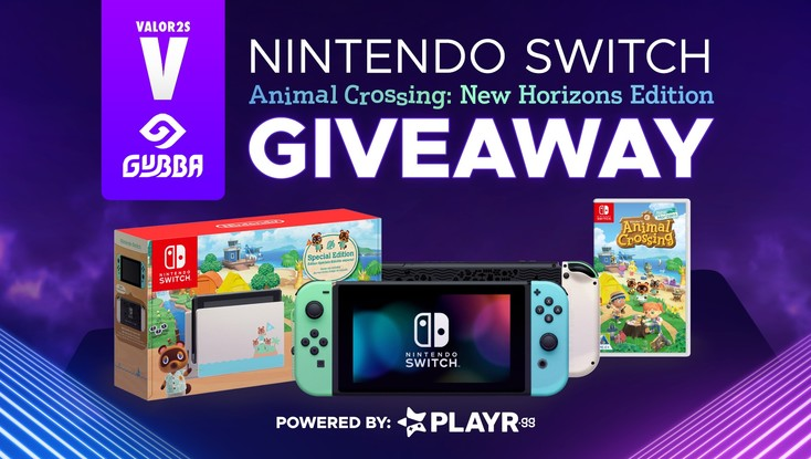 🐼Animal Crossing New Horizons Switch Giveaway!🐻