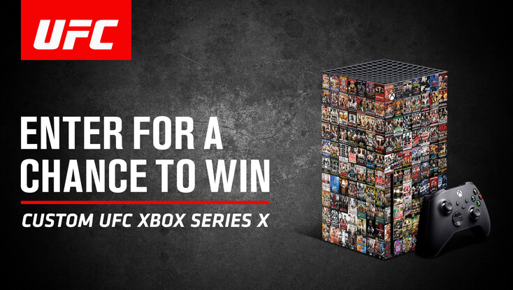 UFC Custom XBOX Series X Giveaway!